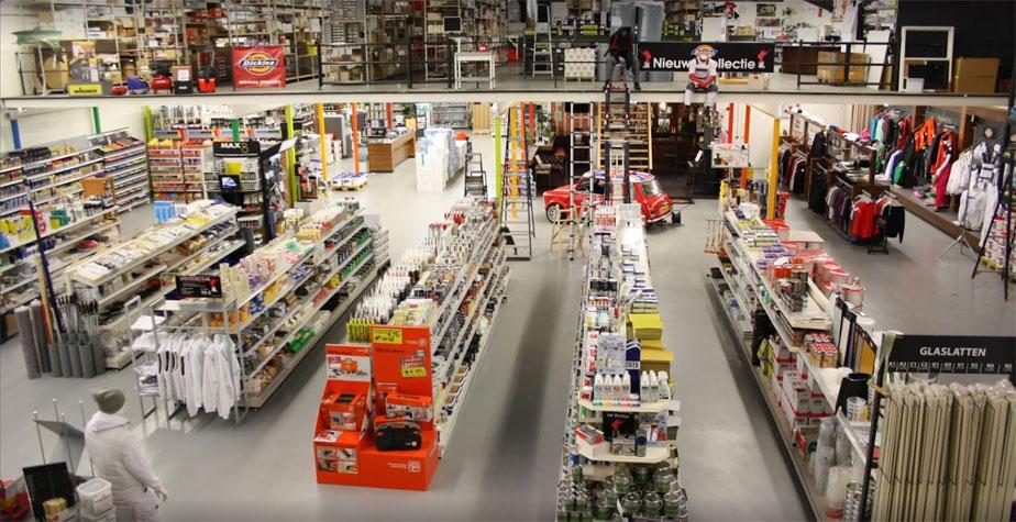 Nicolaas Verf - onze winkel overzicht producten