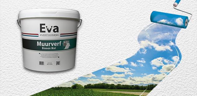 Nieuw: EVA Re-Used Muurverf