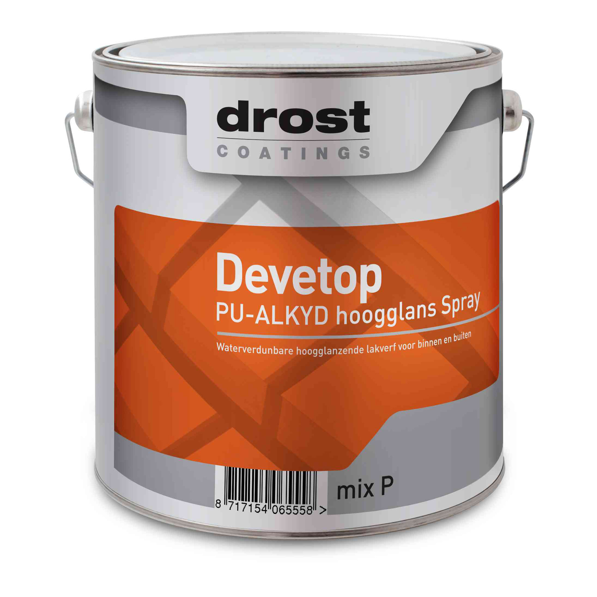 Drost Devetop PU-Alkyd Hoogglans Spray