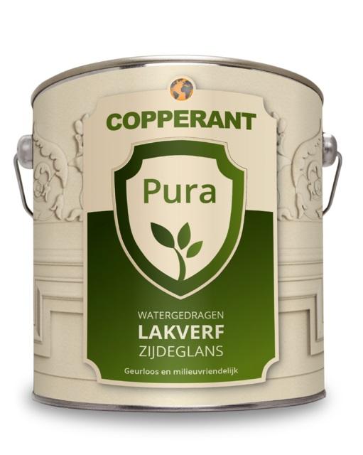Copperant Pura Biobased Lakverf Zijdeglans