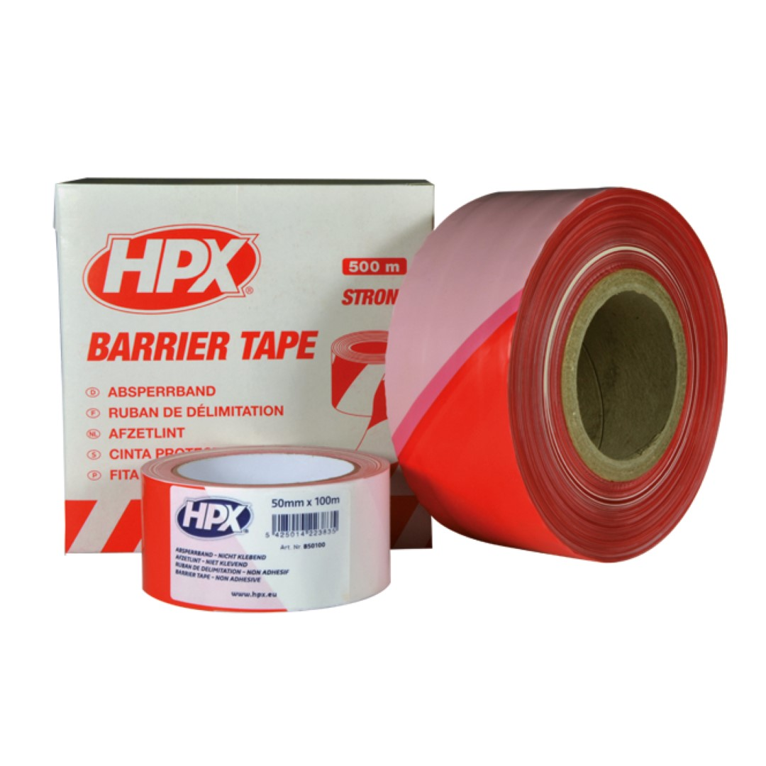 HPX Afzetlint Rood/Wit