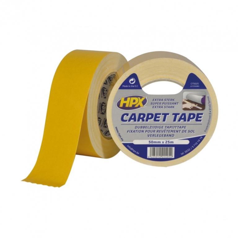 HPX Dubbelzijdig Tapijt Tape  50mm