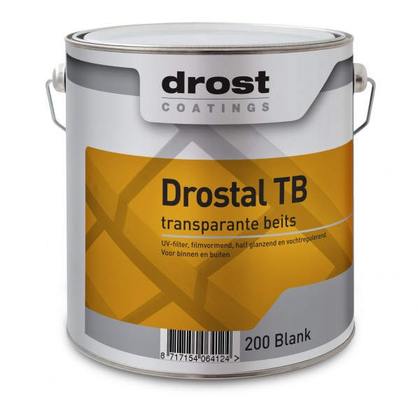 Drost Drostal TB Houtbeits Transparant Zijdeglans 2,5 Liter