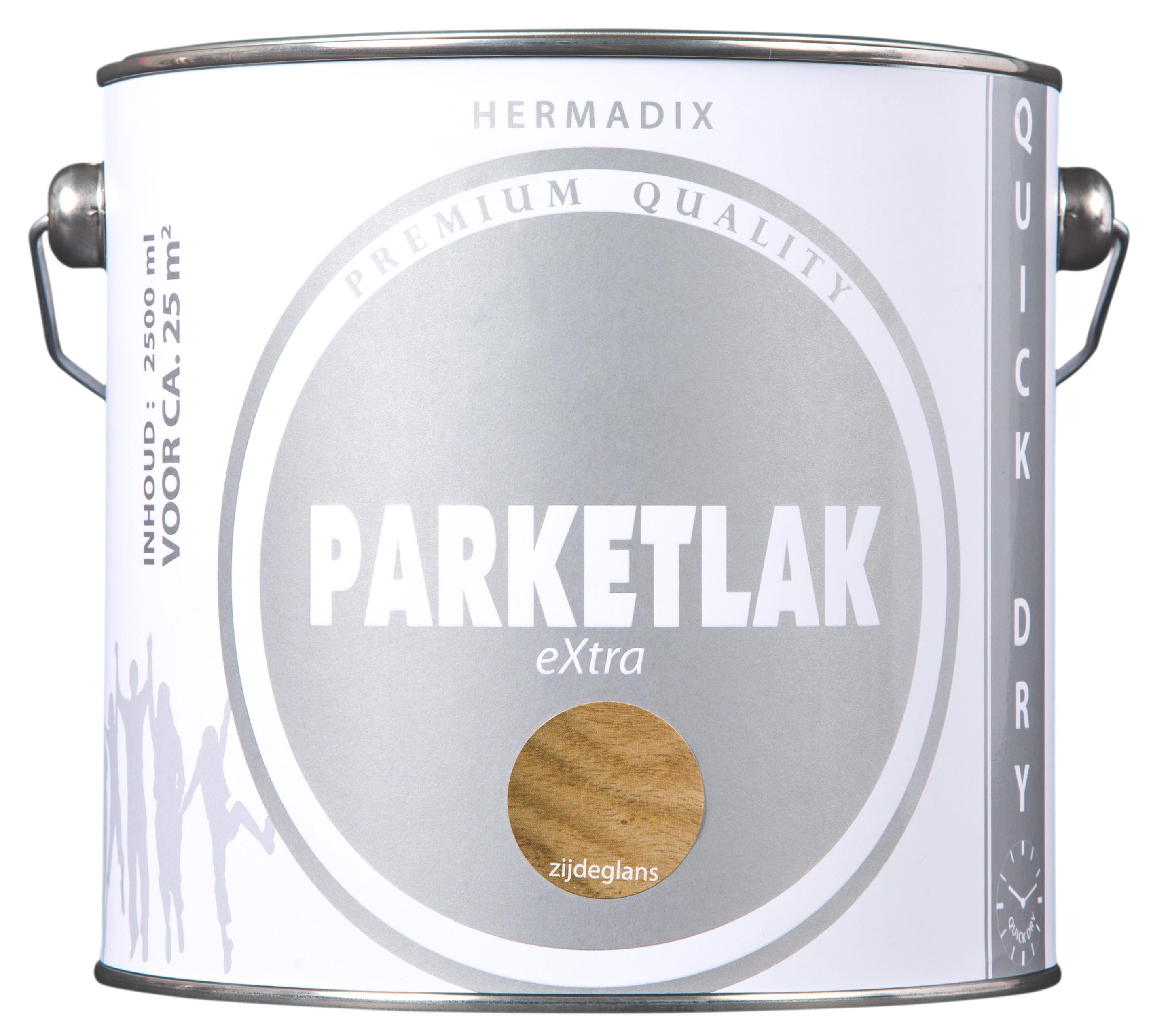 Hermadix Parketlak EXtra  2,5 Liter