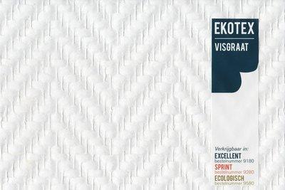 Ekotex Visgraat  Direct 9180 Rol 50mtr