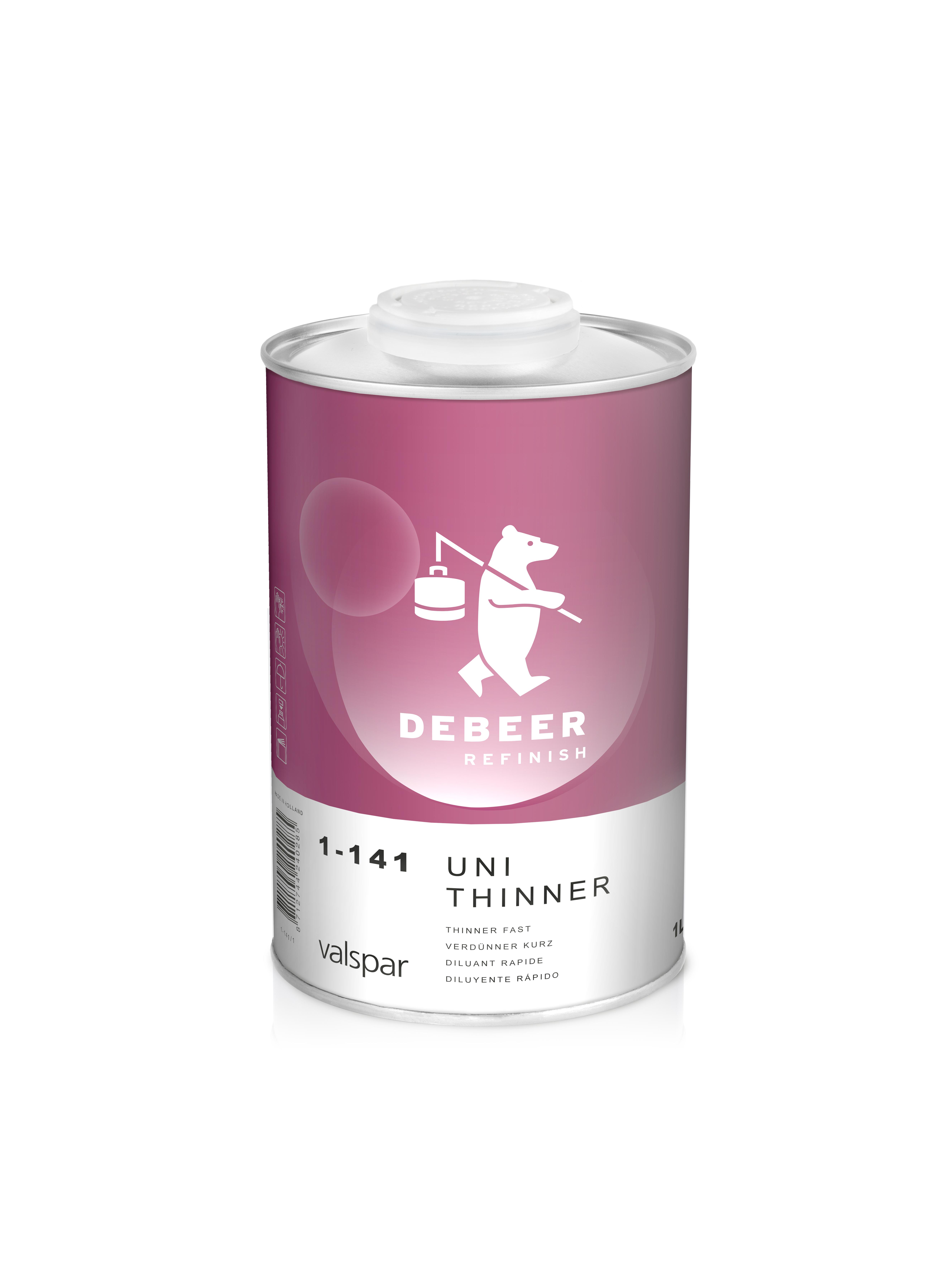 De Beer Uni Verdunner Snel 1-141 1 Liter