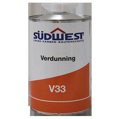Sudwest Verdunning Voor Allgrund V33 1 Liter