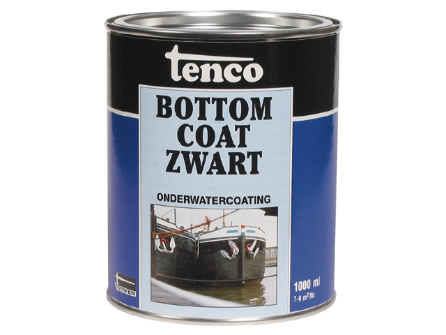 Tenco Bottom Coat Zwart