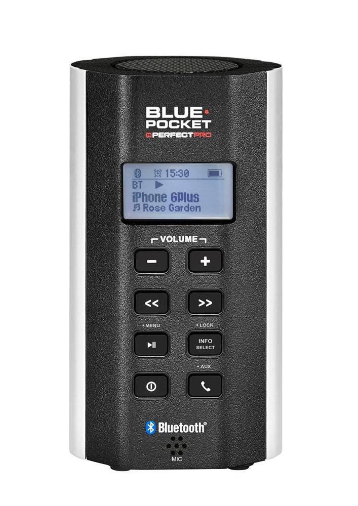 PerfectPro Radio Solo Worker Blue Pocket