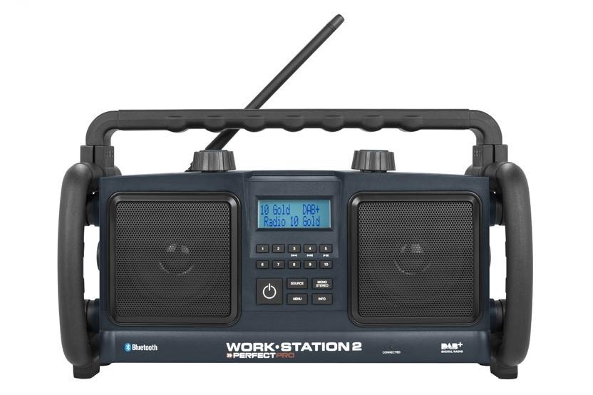 PerfectPro Radio Workstation 2 DAB+