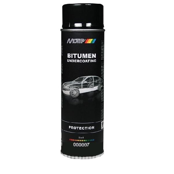 Motip Bitumen Undercoating Spuitbus 500 Ml