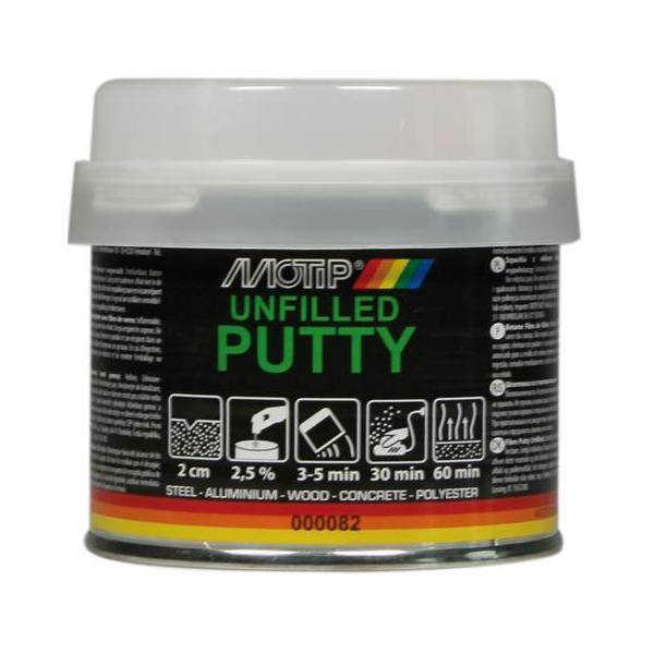 Motip Glass Fibre Unfilled Putty 250 Gram
