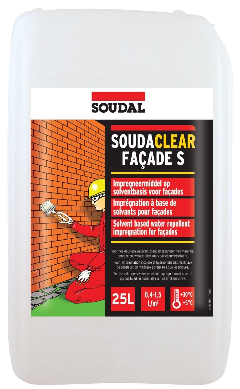 5 Ltr Soudal Soudaclear Impregneer Voor Muren