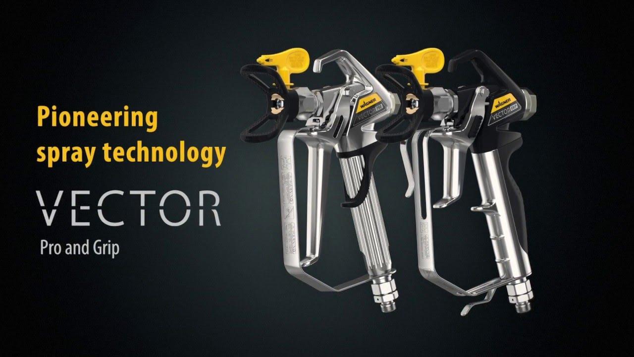 Wagner Airless Spuitpistool Vector Pro 2 Finger