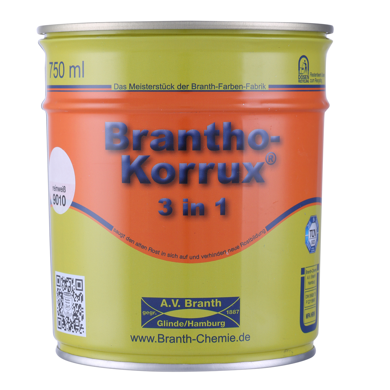 750ml  Brantho Korrux 3 In 1