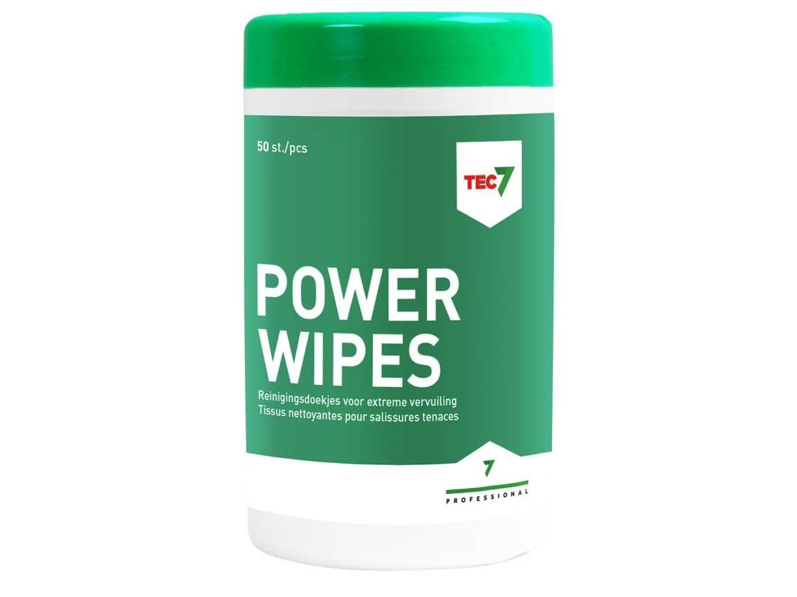 TEC7 Power Wipes Reinigingsdoekjes 50st