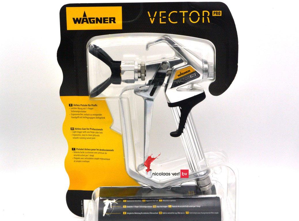 wagner airless spuitpistool vector pro 4 finger nicolaas verf. Black Bedroom Furniture Sets. Home Design Ideas