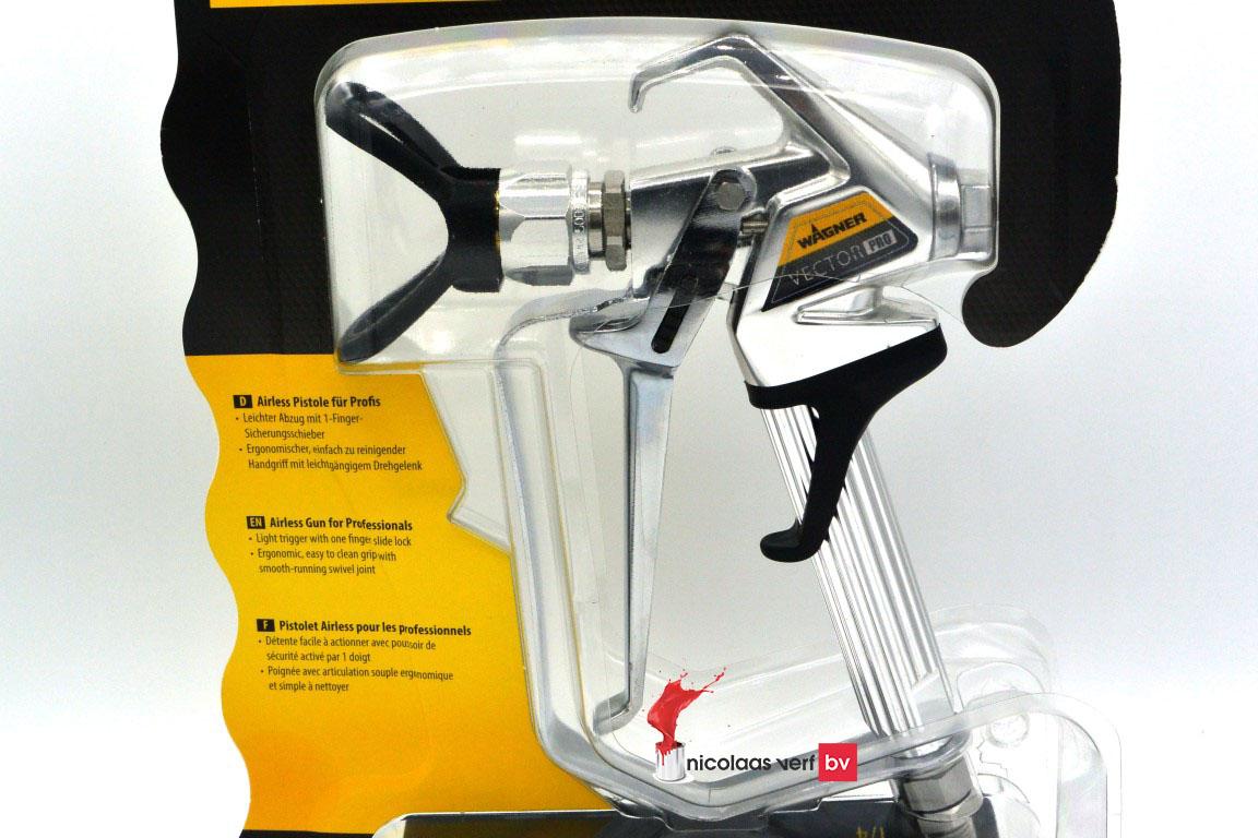 Wagner Airless Spuitpistool Vector Pro 4-Finger