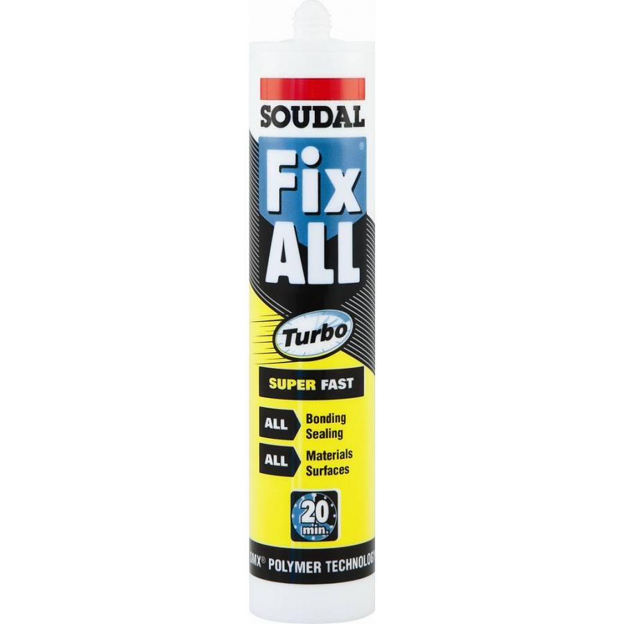 290ml Soudal Fix All Turbo Wit