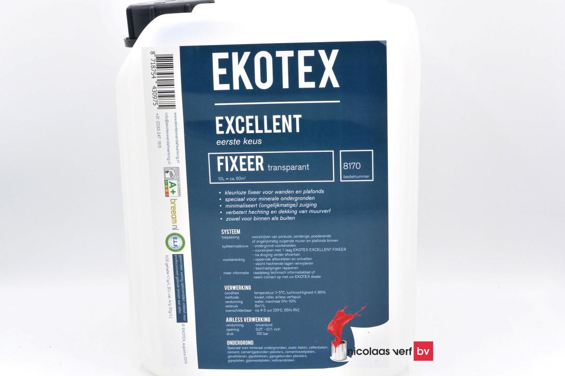 Ekotex Fixeer Voorstrijkmiddel Transparant