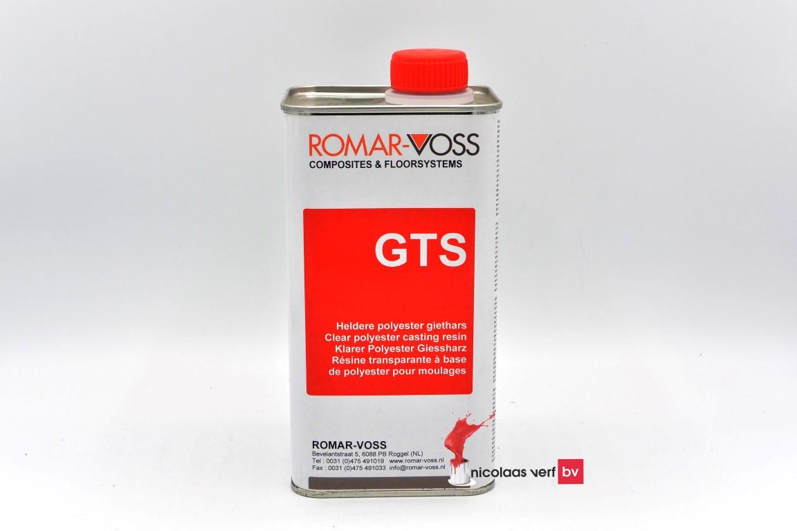 Polyesterhars GTS Heldere Giethars Met Verharder