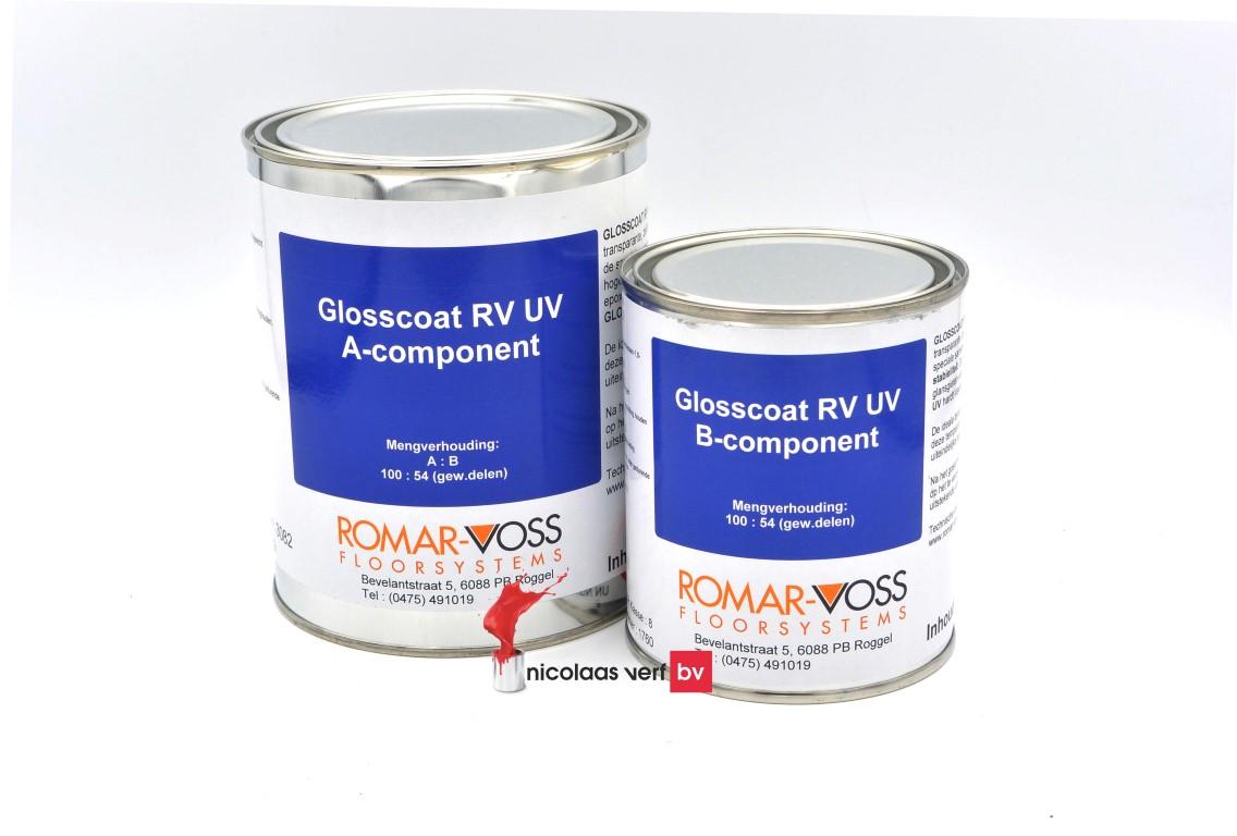 Glosscoat RV UV Gietepoxy Transparant