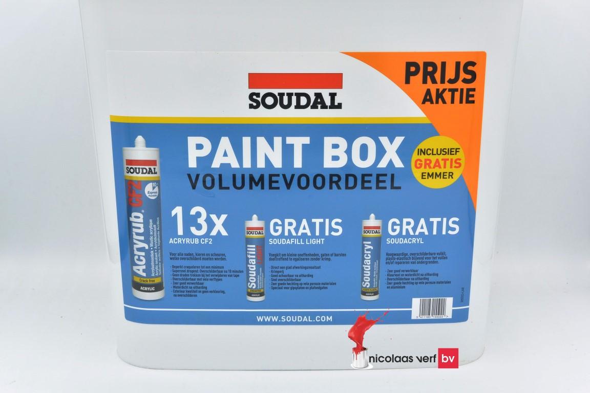 Soudal Paintbox  Aktie Pakket