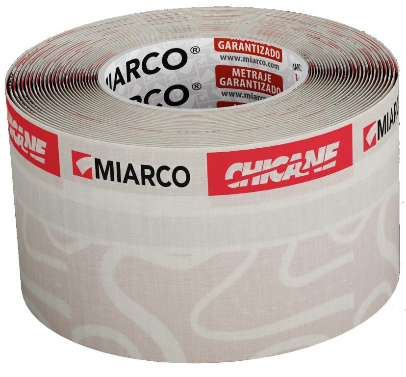 Miarco Chicane Afplakband 75mm X 20 Meter