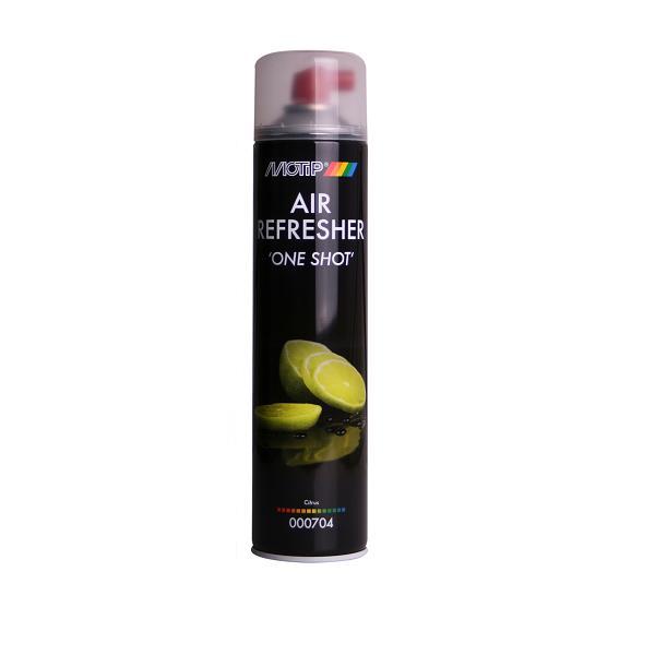 """Motip Air Refresher """"One Shot"""" Citrus Spuitbus 600 Ml"""