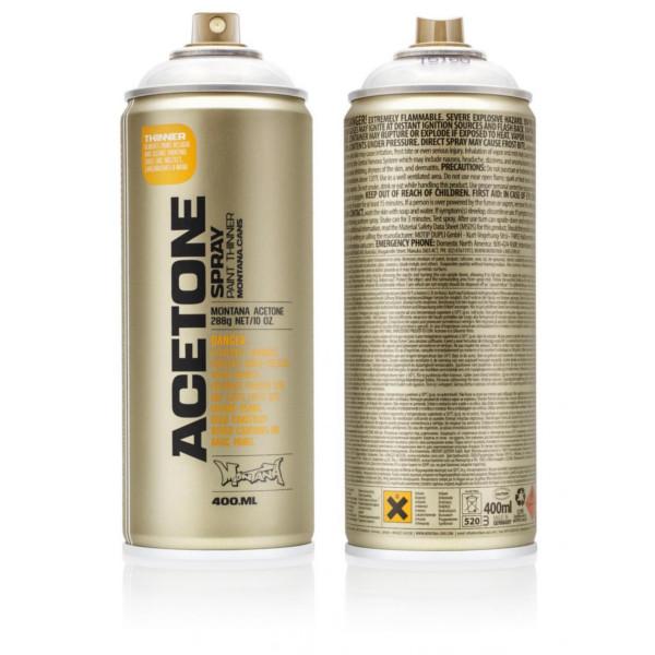 Montana Acetone Spray Spuitbus 400ml