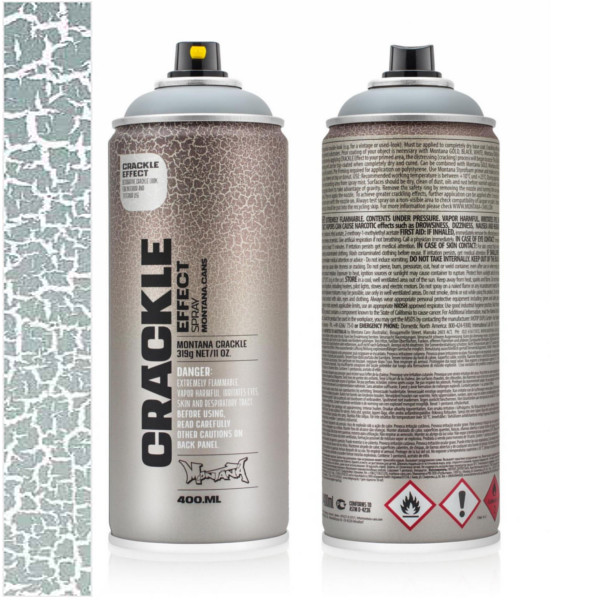 Montana Crackle Effect Spray Spuitbus 400ml