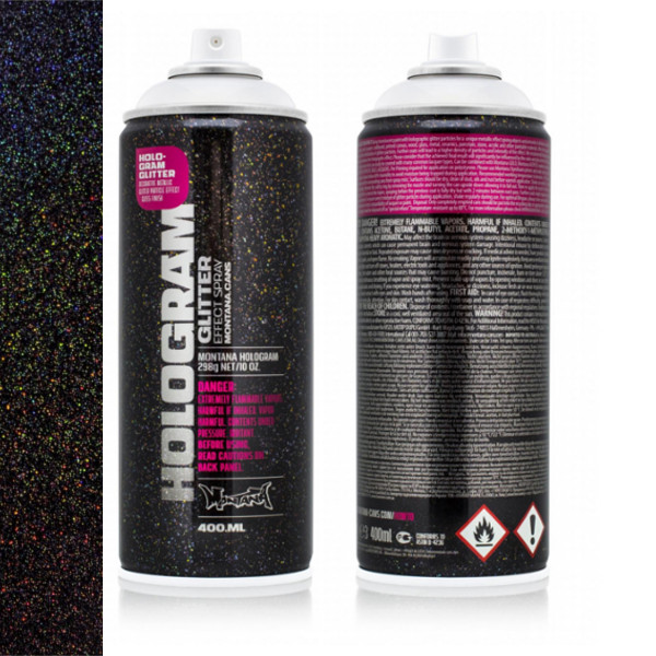 Montana Glitter Hologram Spray Spuitbus 400ml