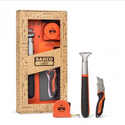 Bahco Giftpack 650 (Schraper / Rolmaat / Stanleymes)