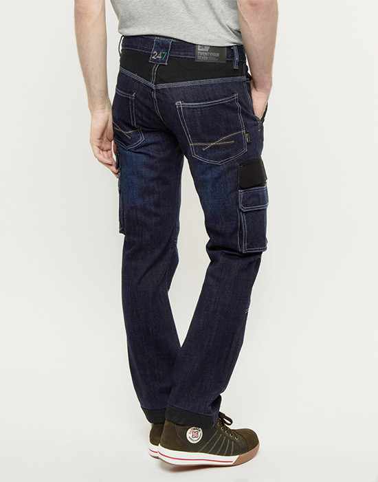 247 Jeans Grizzly D30 achter