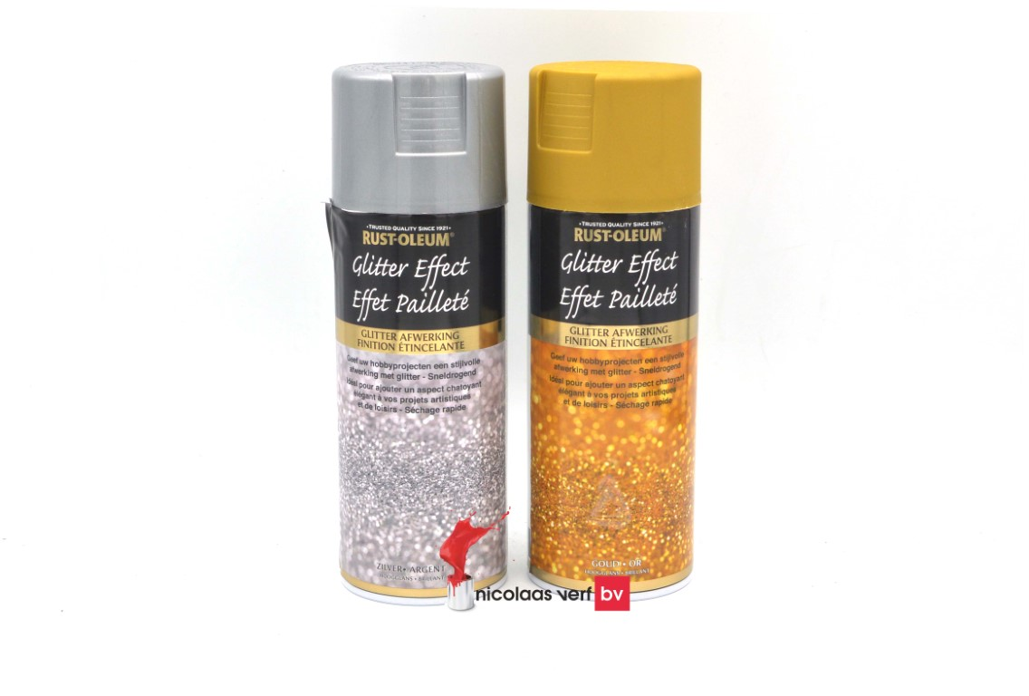 Rustoleum Glitter Effect