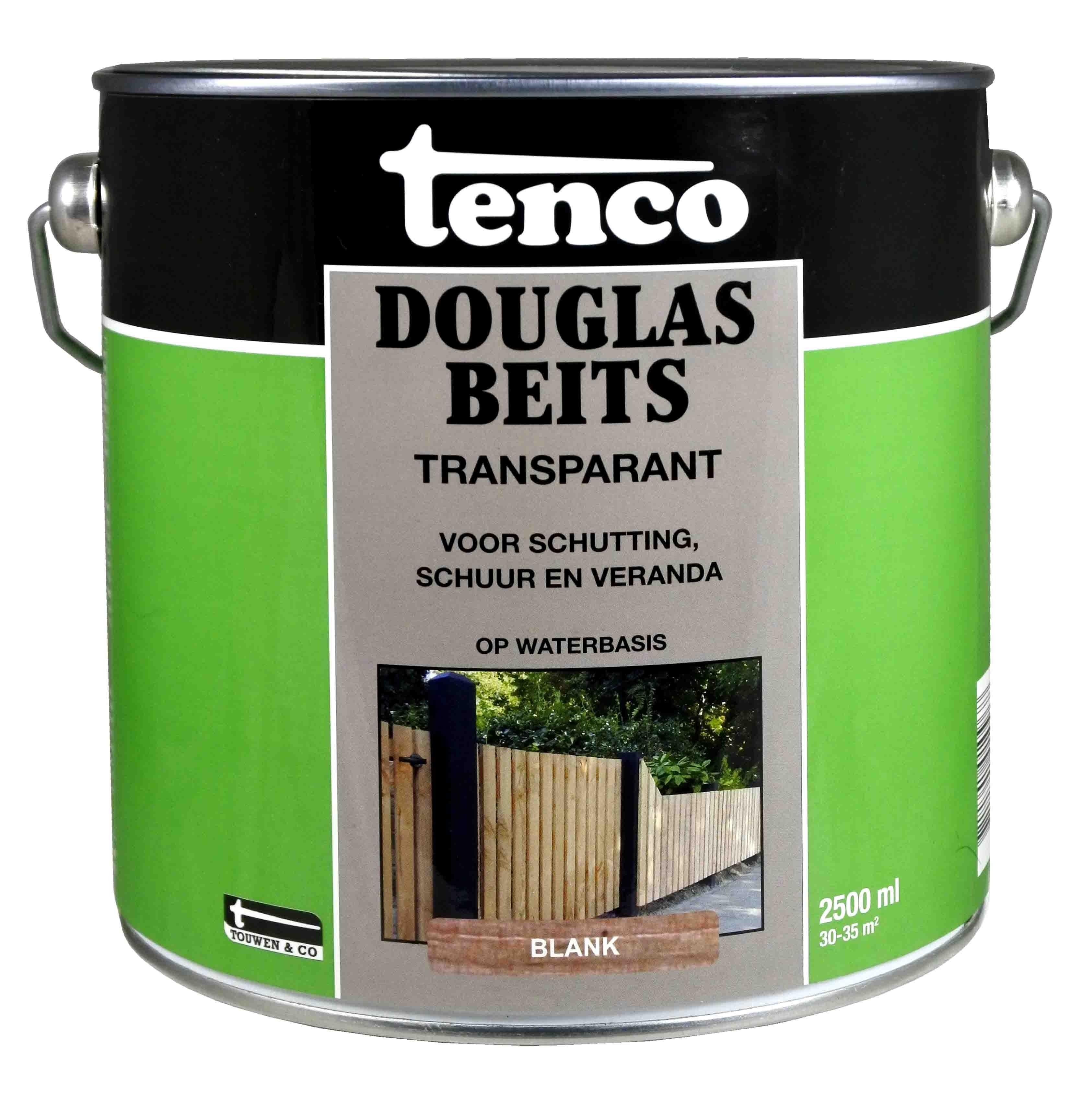 Tenco Douglas Beits Transparant 2,5 Liter