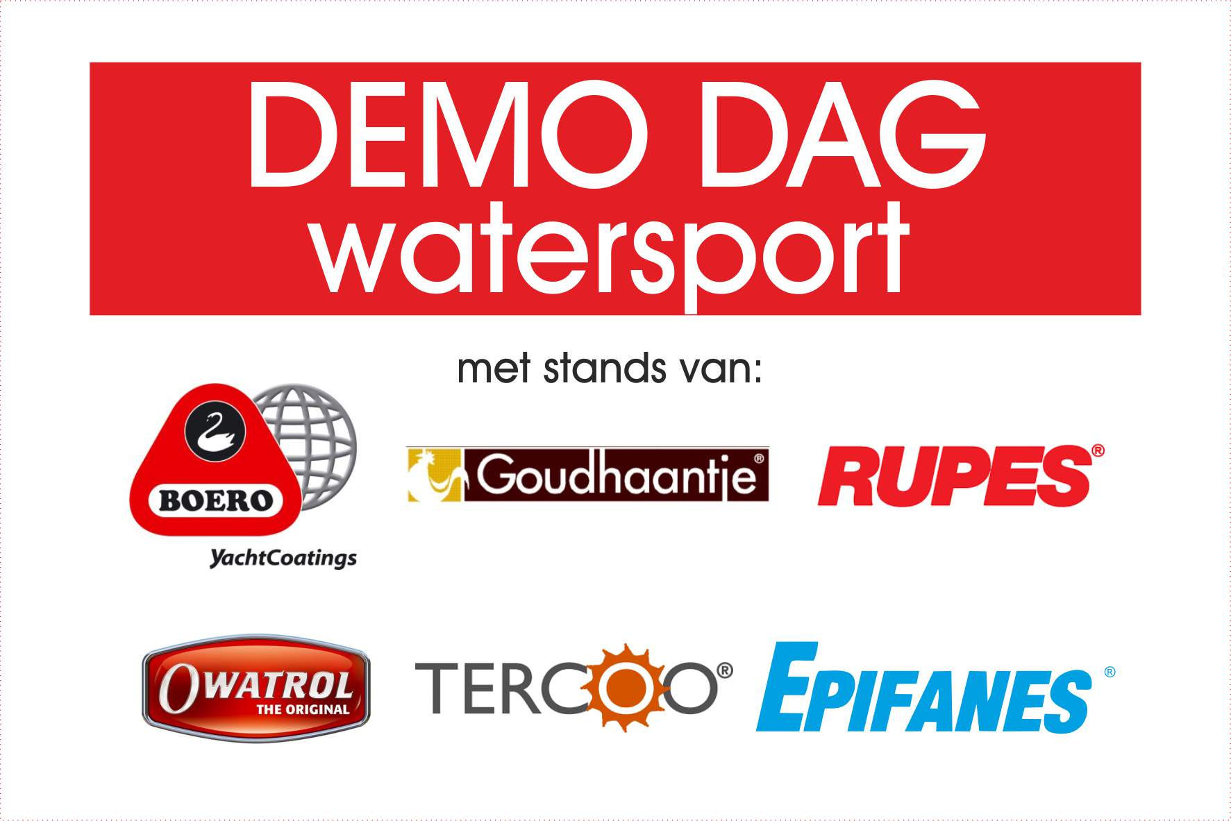Demodag Watersport 2019