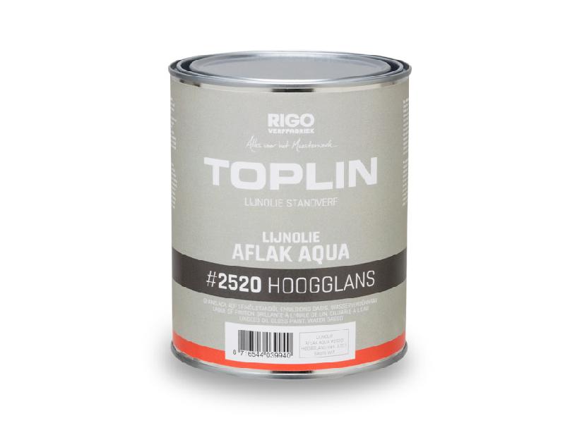 Toplin Aqua Hoogglans #2520  1 Liter