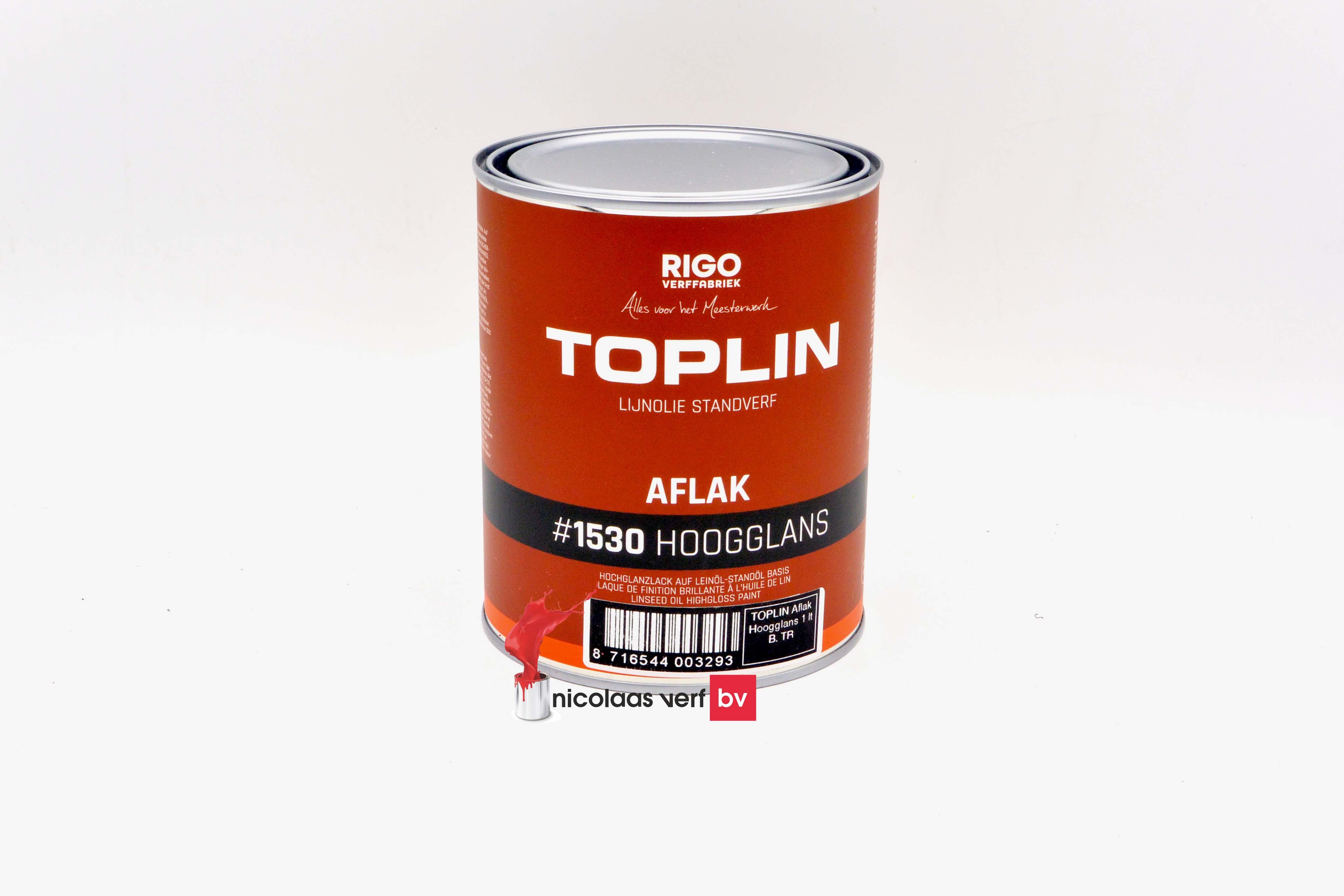 Aquamarijn Toplin Aflak Hoogglans