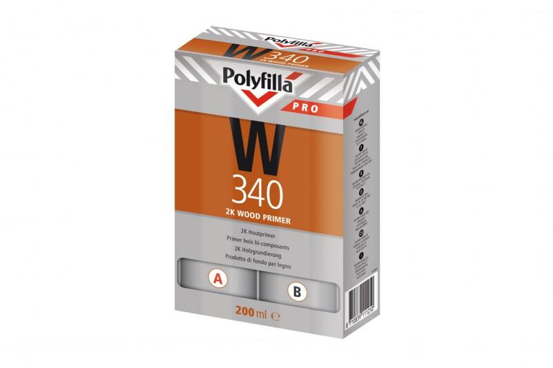 Polyfilla Pro 2K Houtprimer W340 Set 200 Ml