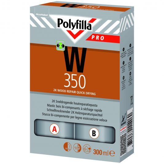 Polyfilla Pro 2K Sneldrogende Houtreparatiepasta W350