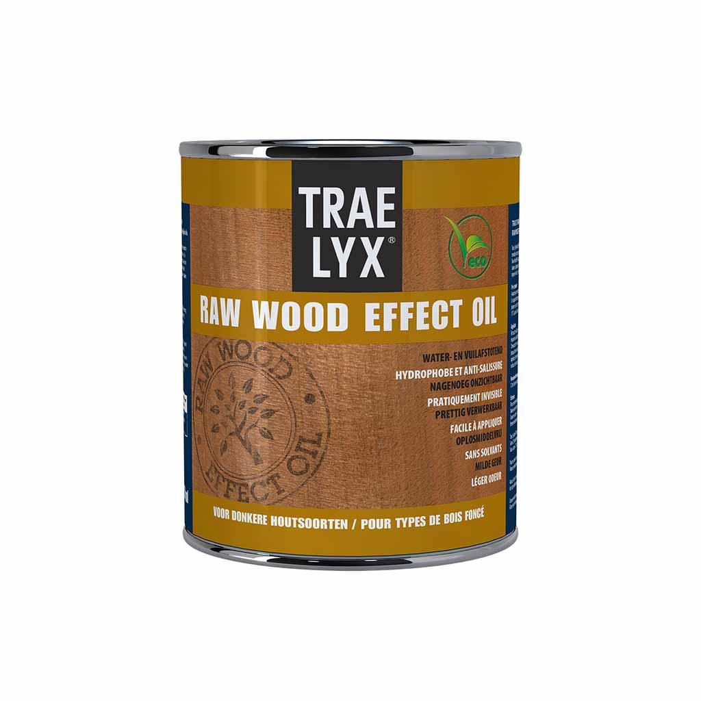 Trae Lyx Raw Wood Effect Oil Donker Hout