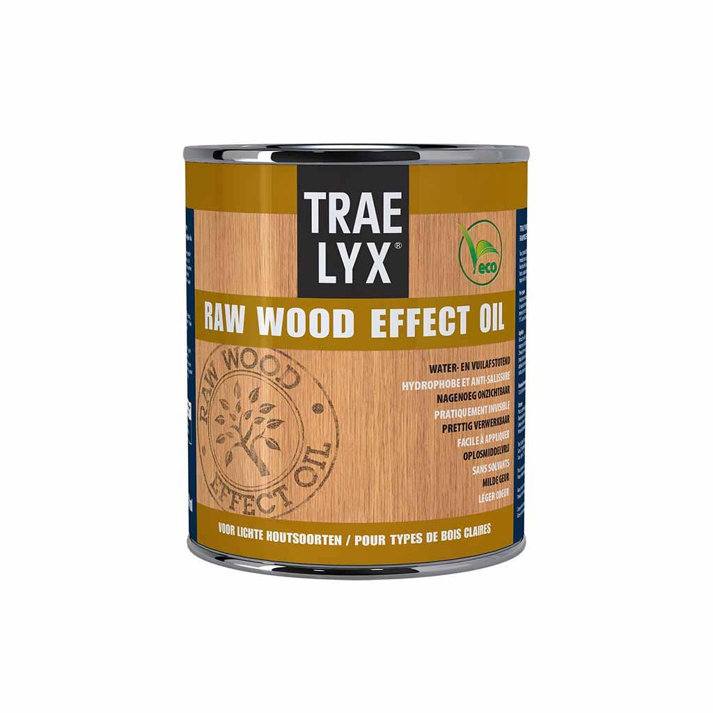 Trae Lyx Raw Wood Effect Oil Licht Hout