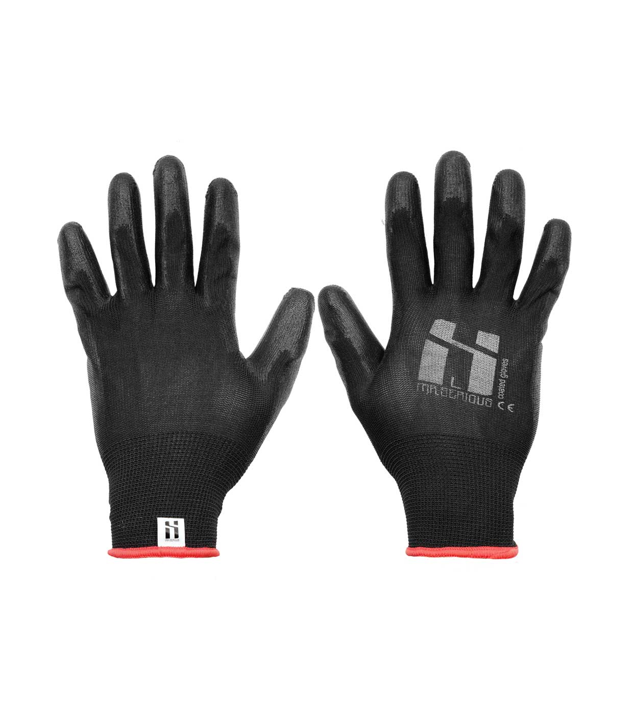 1 Paar Mr. Serious PU Coated Gloves