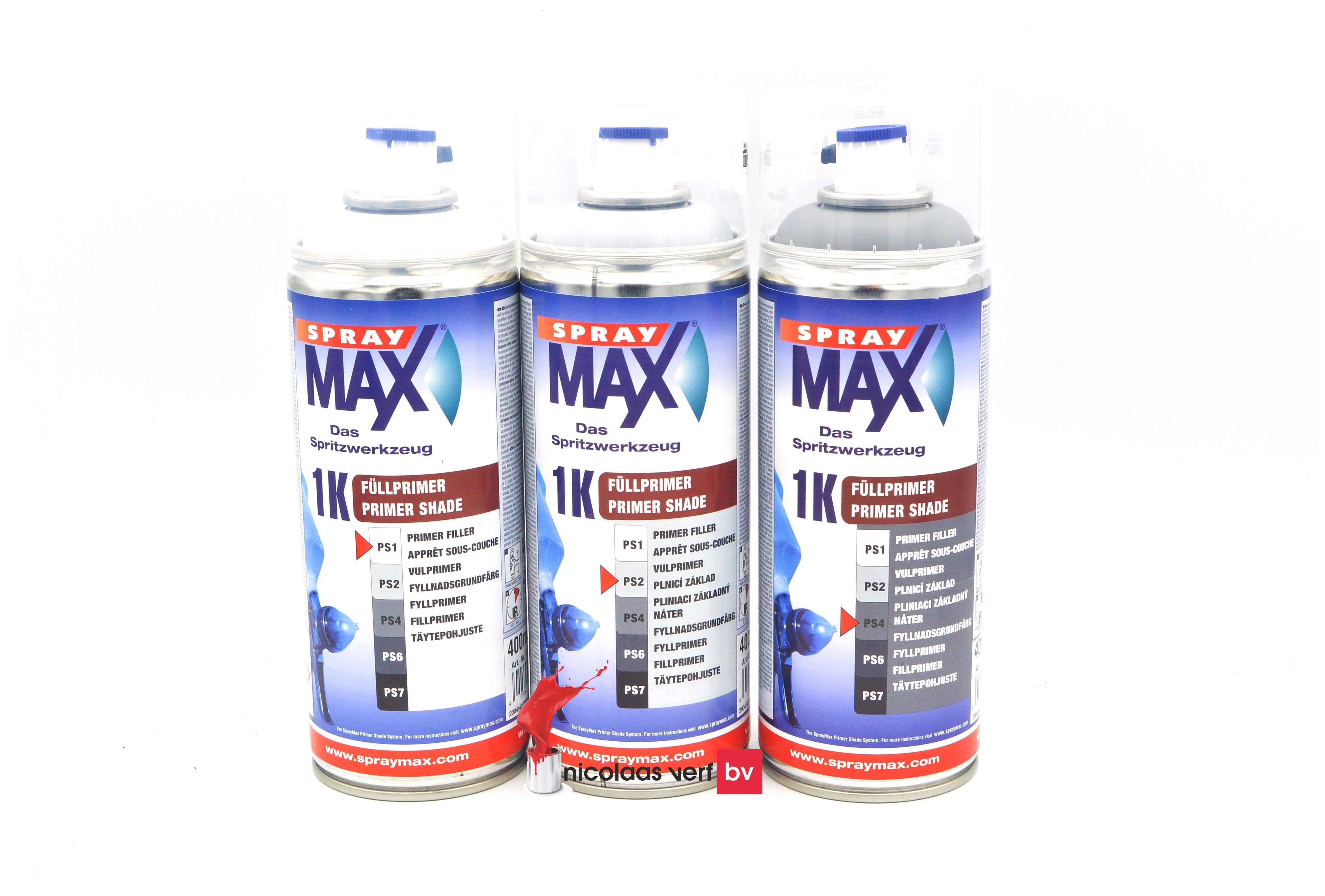 Spray MAX 1K Vulprimer Spuitbus 400 Ml