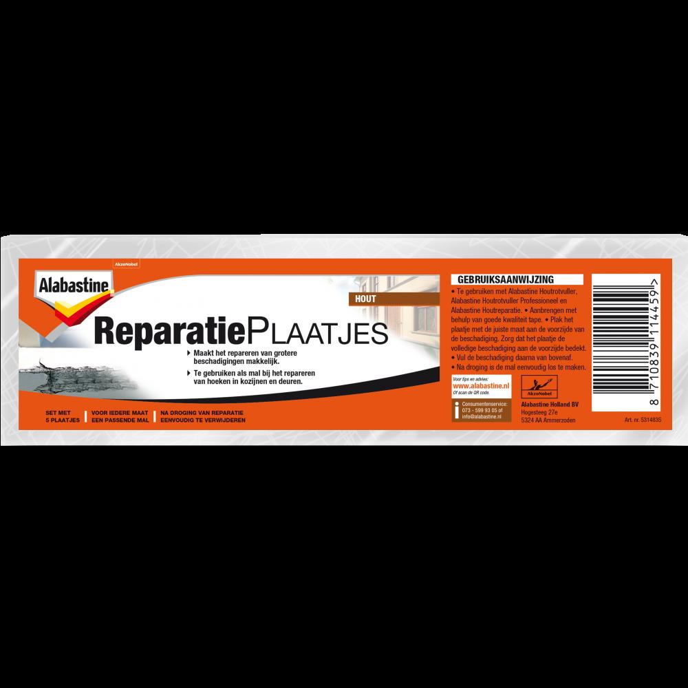 Alabastine Reparatieplaatjes Set