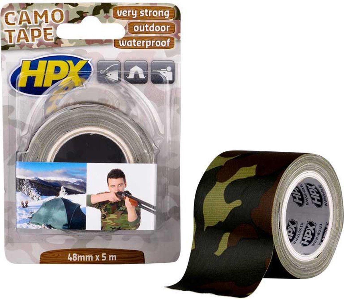 Rol HPX Camotape 48mm X 5 Meter